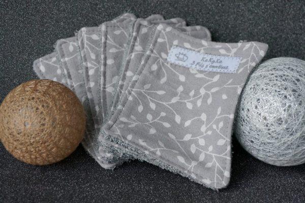 lingettes grises feuillage