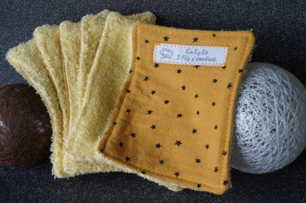 lingettes lavables zéro déchet la boutique