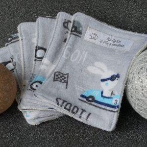 lingettes lavables zéro déchet